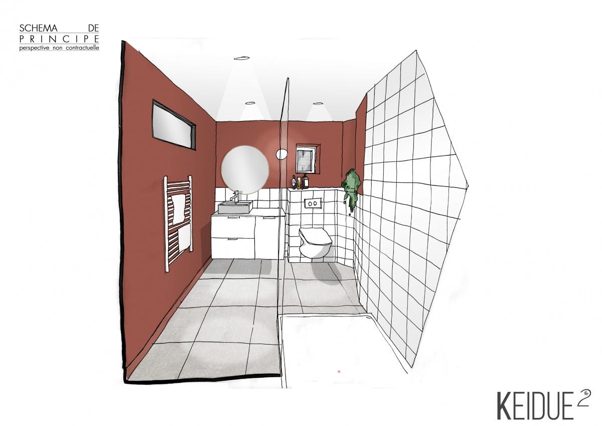 Rénovation Appartement : SDB KEIDUE