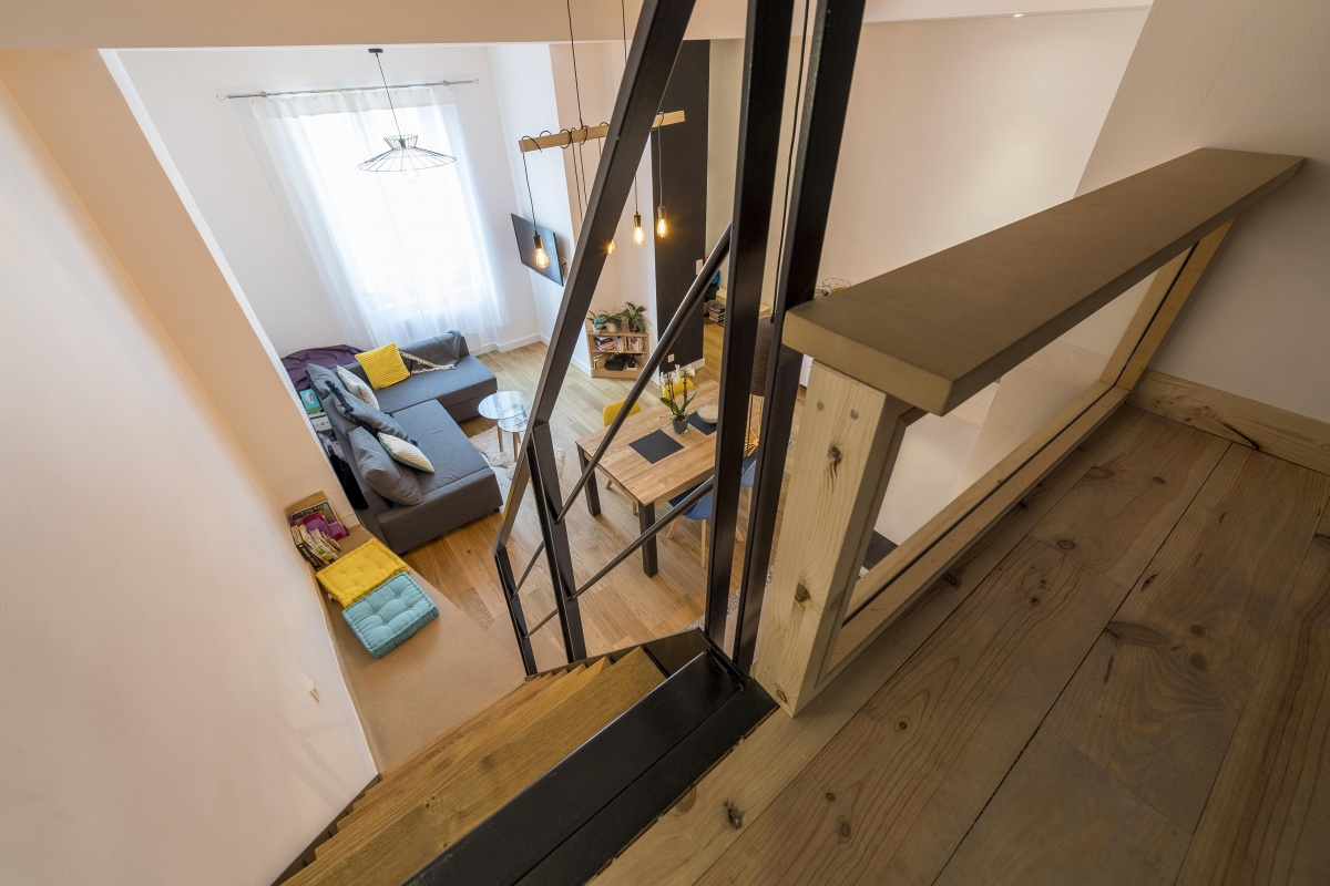 Appartement traversant : 20180115_Mylène archi appart Sathonay Lyon_0071