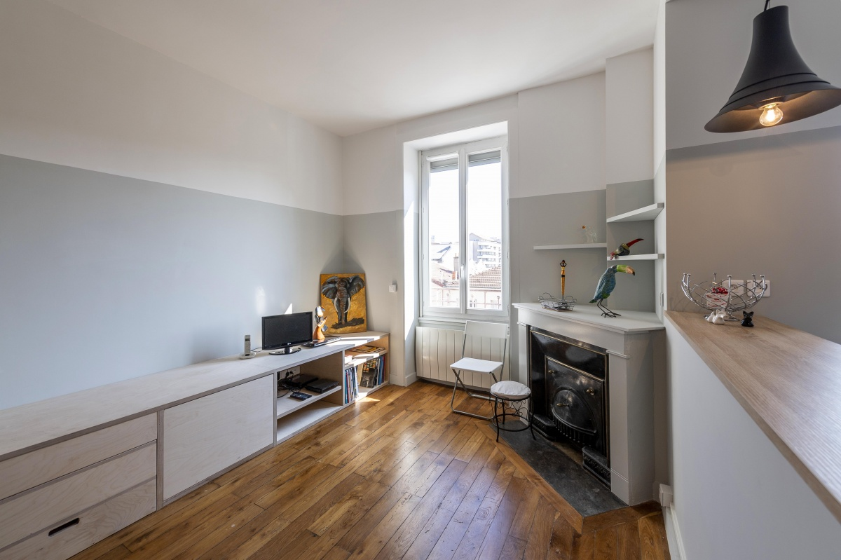 Optimisation des petits espaces : 20190328_Mylene archi appart Villeurbanne 54rMagenta_0068