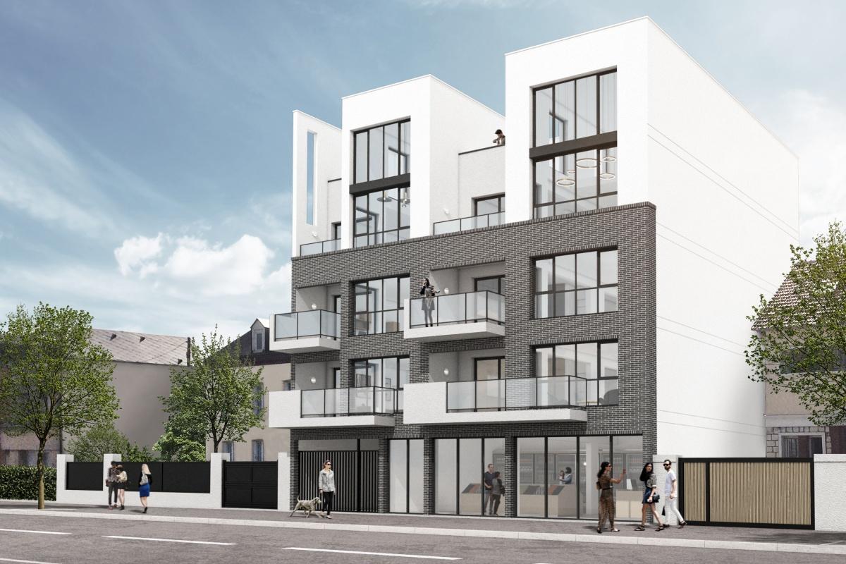 Construction d'un immeuble de 6 logements et d'un local commercial : Logements Mars 01_NEW