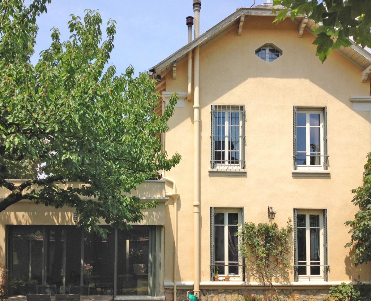 Extension Maison à Montchat : Façade Jardin 2