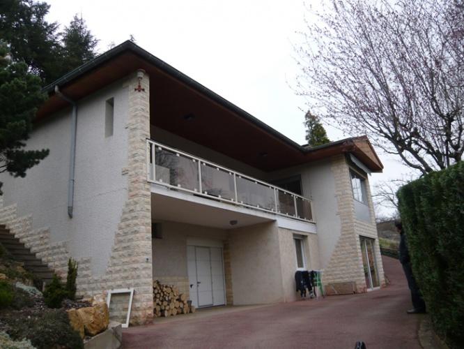 Restructuration d'une villa