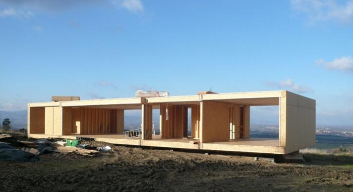 Architecte maison en paille - Maison d architecte en bois ...