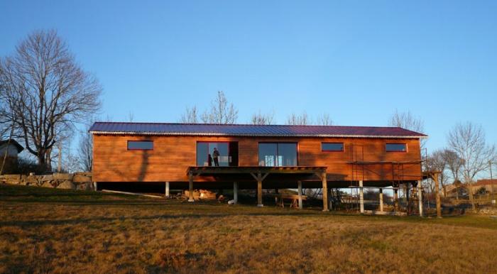 Maison bois sur pilotis : image_projet_mini_13569