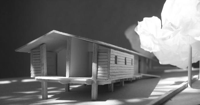 Maison bois sur pilotis : 06_Maison sur pilotis_maquette.JPG