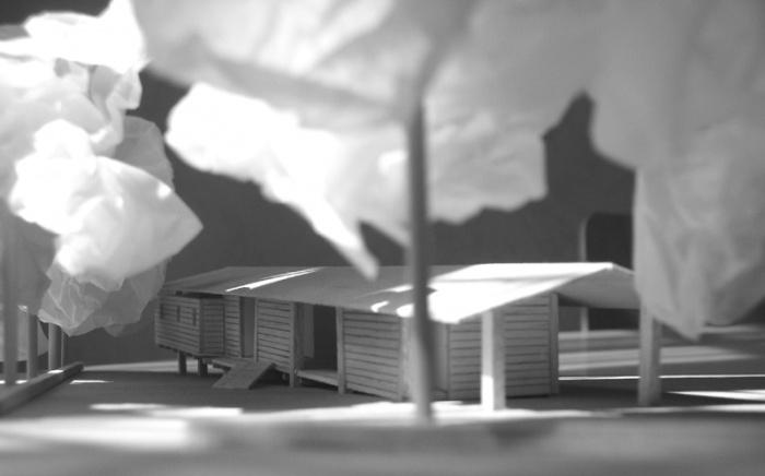 Maison bois sur pilotis : 07_Maison sur pilotis_maquette