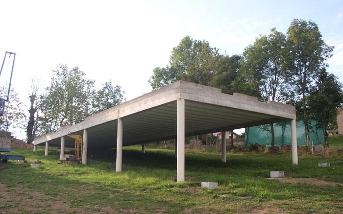Maison bois sur pilotis : 10_Maison sur pilotis_chantier.JPG