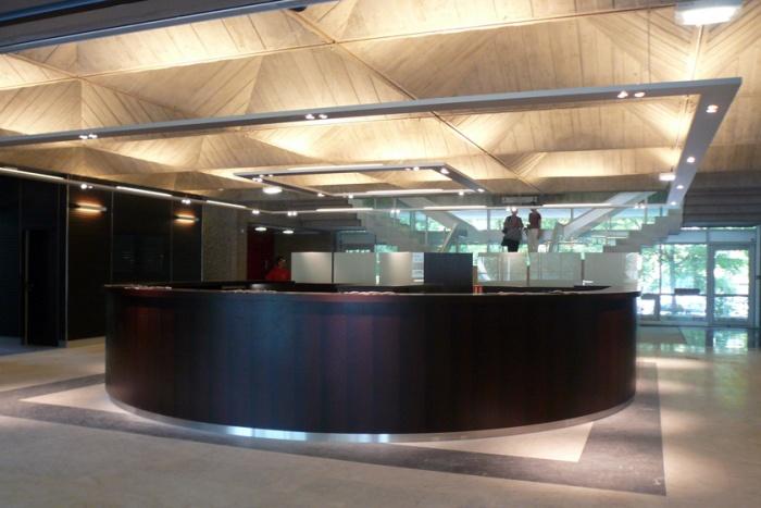 Palais de justice d'Annecy : accueil