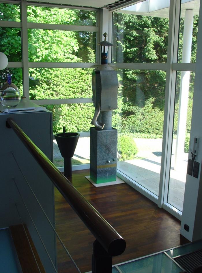 Extension d'une maison individuelle : detail interieur