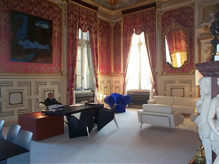 bureau du maire de lyon lyon. Black Bedroom Furniture Sets. Home Design Ideas
