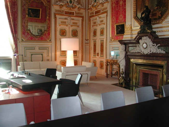 Bureau du maire de Lyon : détail