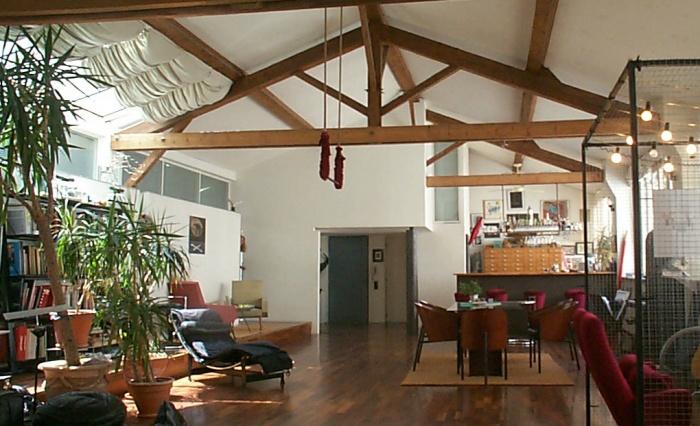 loft a lyon une r alisation de jean yves arrivetz. Black Bedroom Furniture Sets. Home Design Ideas