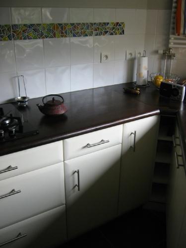 Rénovation et décoration de l'appartement D. : cuisine
