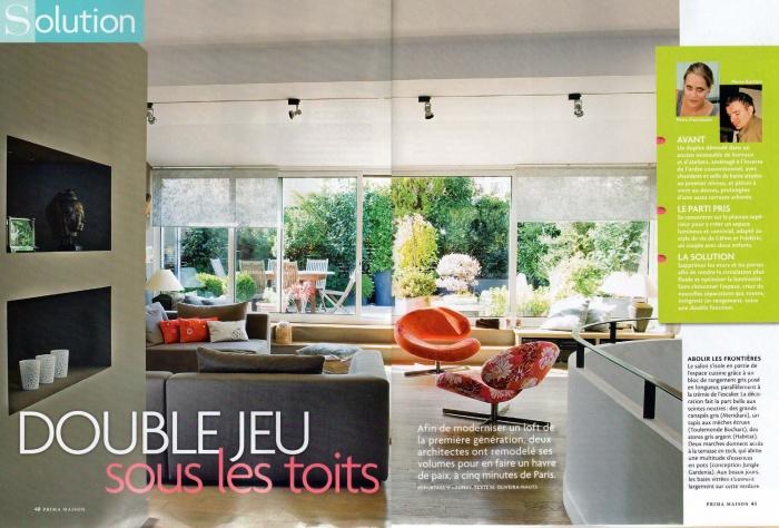 Loft parisien : Publication PRIMA-1