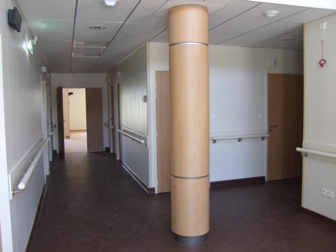 Unité de dialyse médicalisée de 8 postes : hall