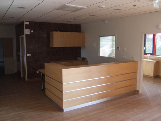 Centre de dialyse : accueil