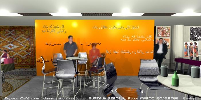 Percall - aménagement bureaux RABAT : cafe.jpg