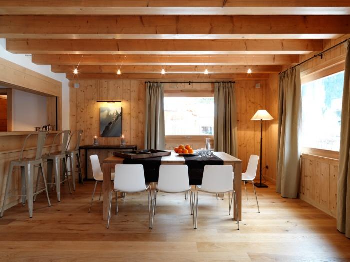 4 chalets_CH : Liarets 1 living room