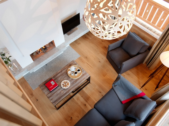 4 chalets_CH : Liarets 4 livingroom top