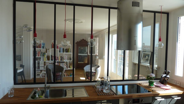 esprit loft lyon une r alisation de sylvain perillat architecte. Black Bedroom Furniture Sets. Home Design Ideas