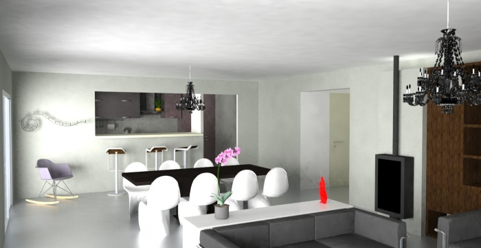 Am nagement int rieur maison m chamb ry - Amenagement interieur maison contemporaine ...