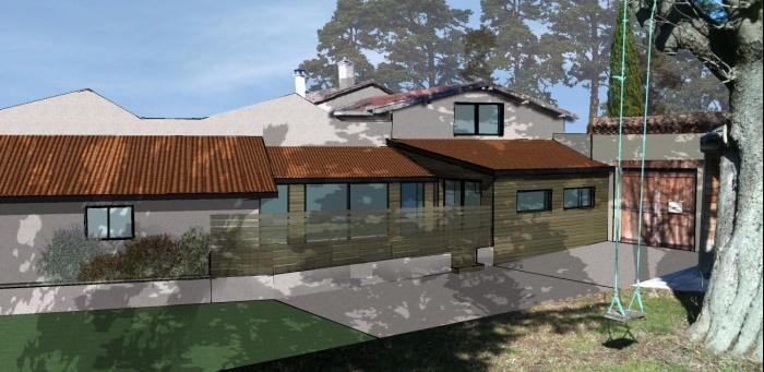Extension d'habitation / rénovation