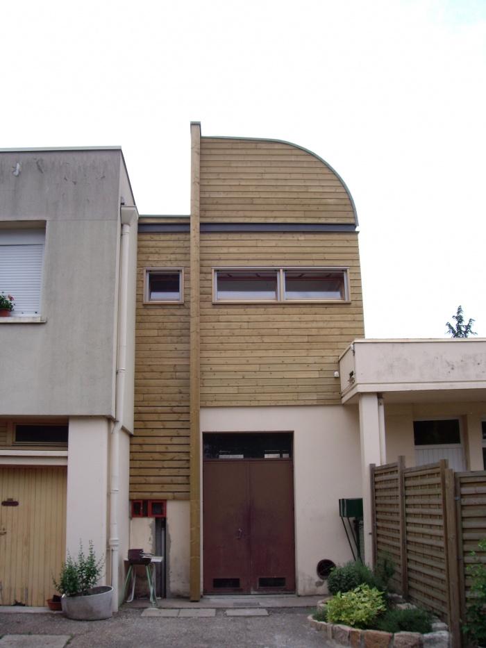 extension maison individuelle bois v nissieux. Black Bedroom Furniture Sets. Home Design Ideas