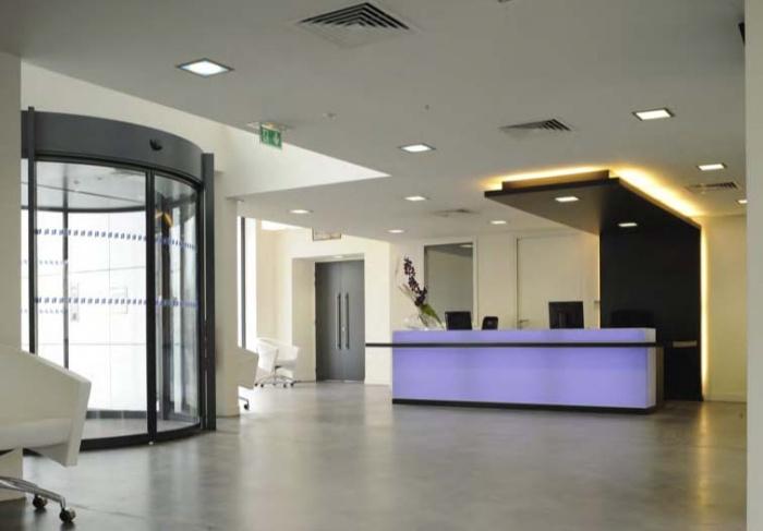 CRCI- Chambre Régionale de Commerce et d'Industrie  Rhône-Alpes-Aménagement du nouveau siège à la Confluence.