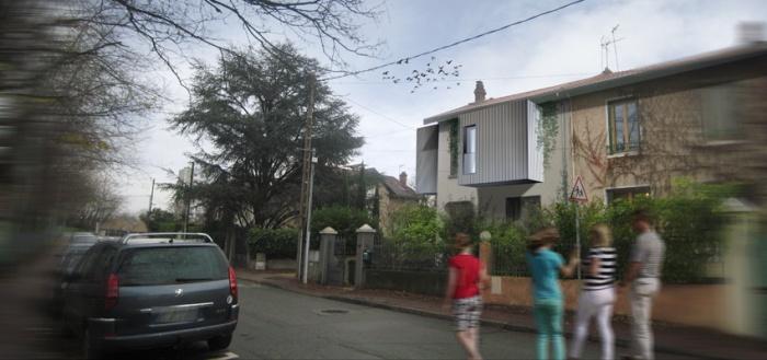 Extension maison individuelle à Bron : 1bis