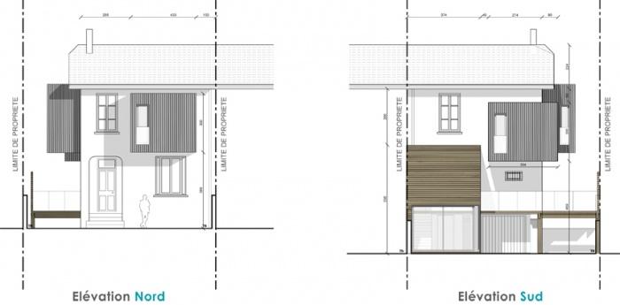 Extension maison individuelle à Bron : 3