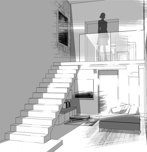 Extension maison individuelle à Bron : 4