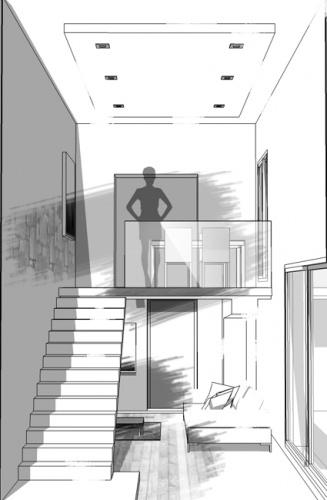 Extension maison individuelle à Bron : 5