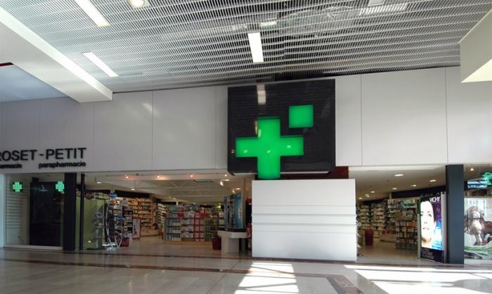 nouvelle façade pour une pharmacie