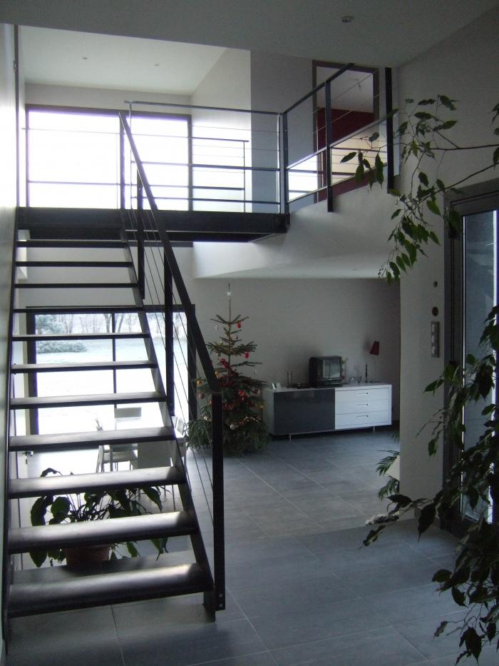 Maison Viret : Montée d'escalier