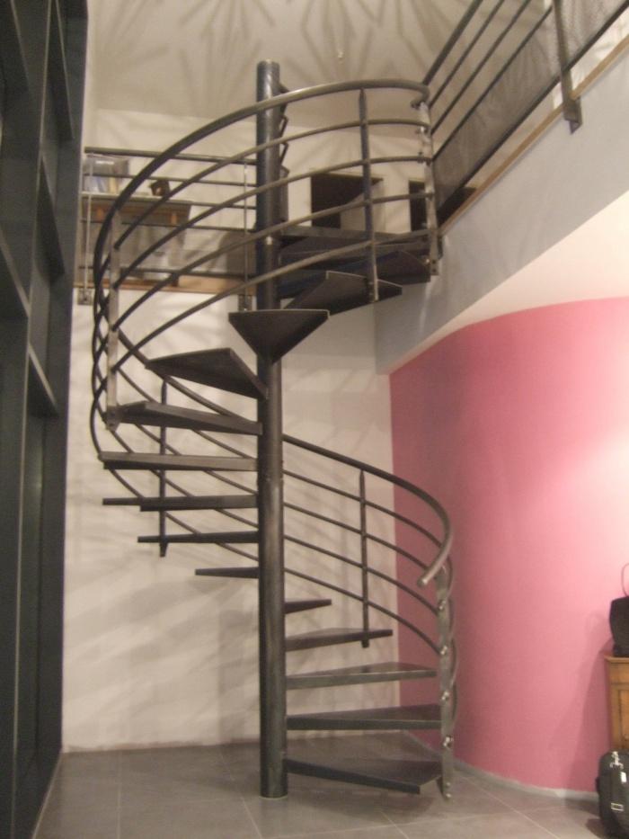 Maison Fayolle : Escalier