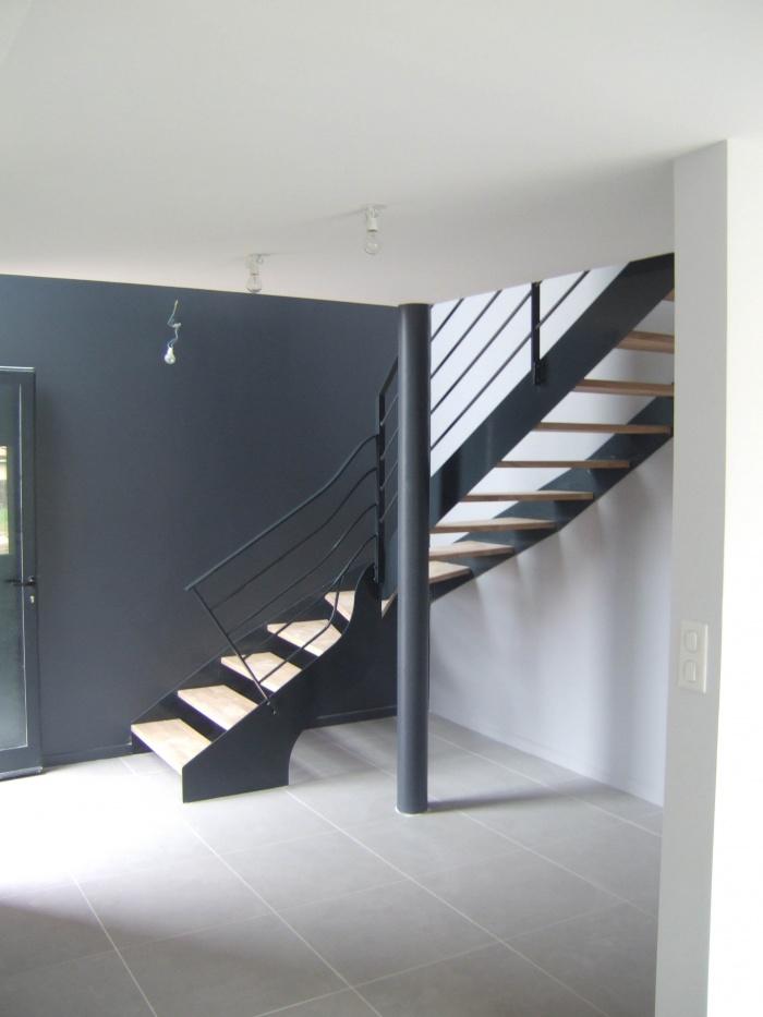 Maison Corbeel : Escalier
