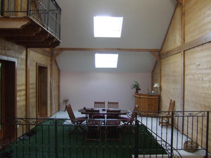 Réhabilitation Toletti : Terrasse intérieure