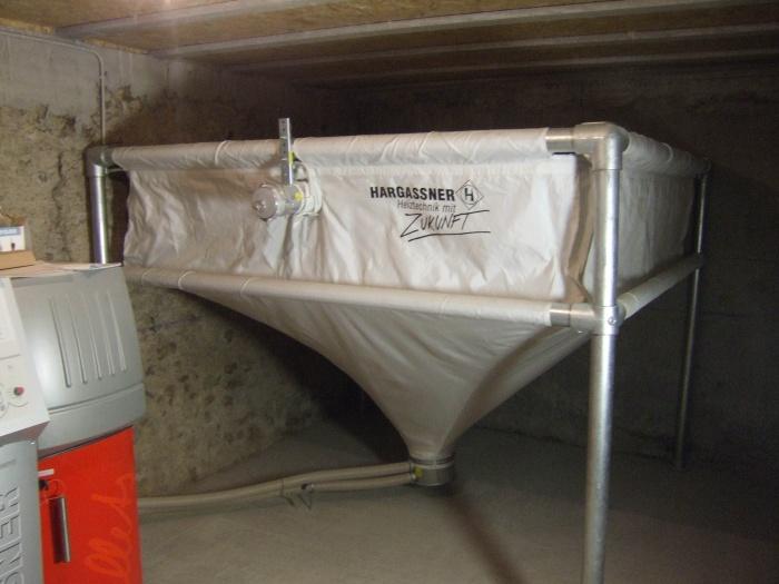 Réhabilitation Toletti : Silo granules bois