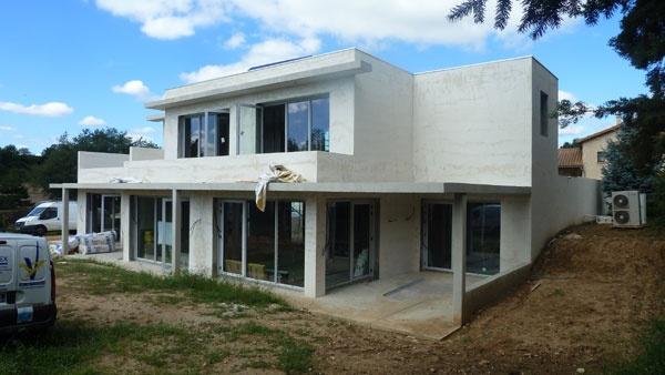 Maison moderne brignais une r alisation de sylvain for Maison moderne electricite