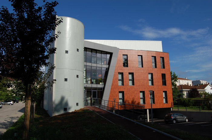 Immeuble de bureaux avenue Monnot Prolongée : Façade principale