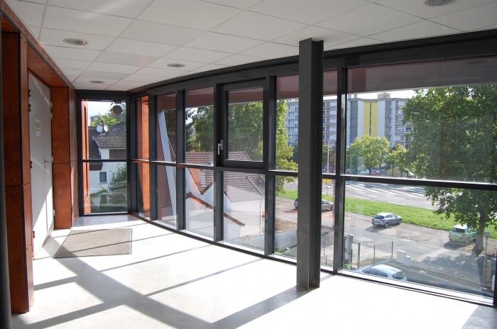 Immeuble de bureaux avenue Monnot Prolongée : Hall du R+2