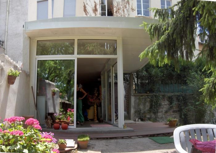Extension appartement en rez de jardin lyon for Appartement rez de jardin lyon