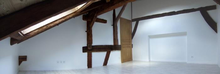 Immeuble Viret : Chambre appartement R+2
