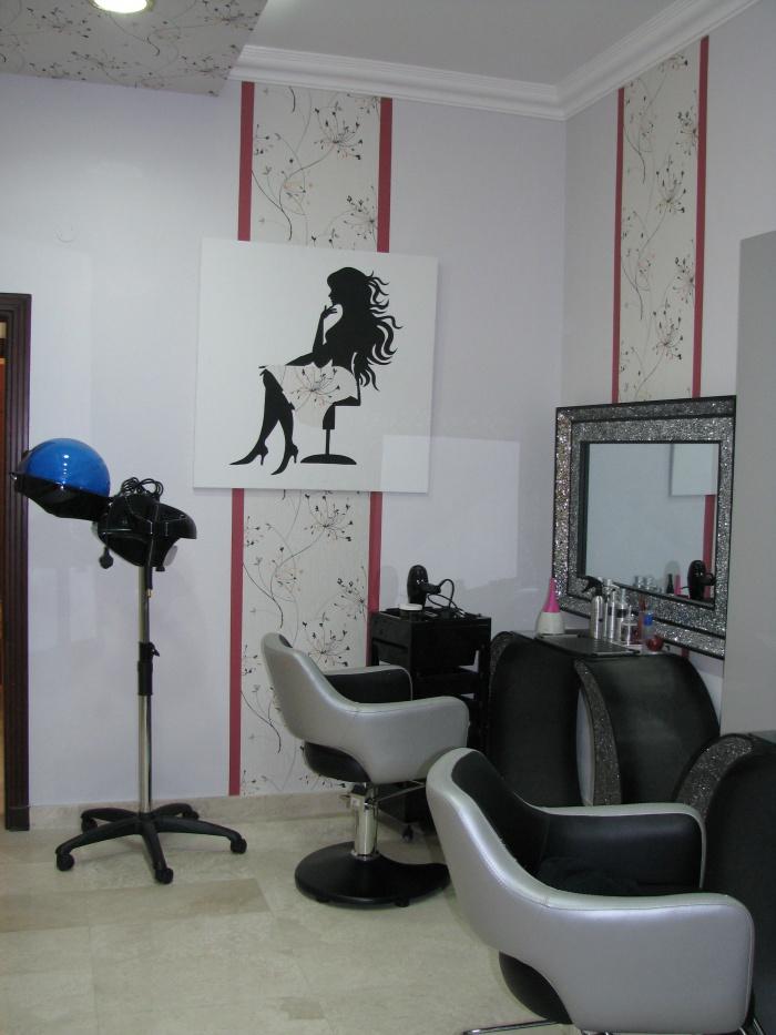 Salon de beauté - Réalisé