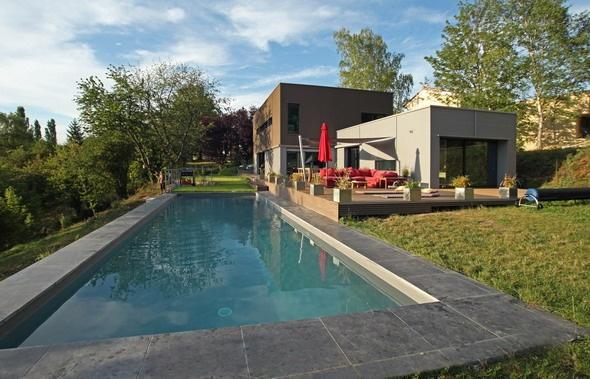 Maison contemporaine HQE : texL01