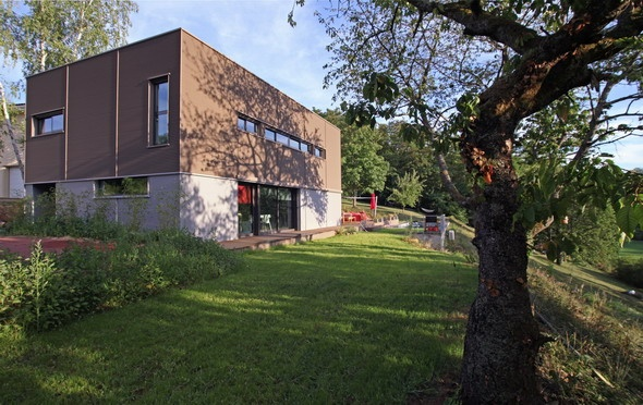 Maison contemporaine HQE : texL02