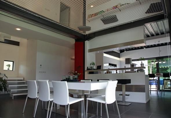 Maison contemporaine HQE : texL13