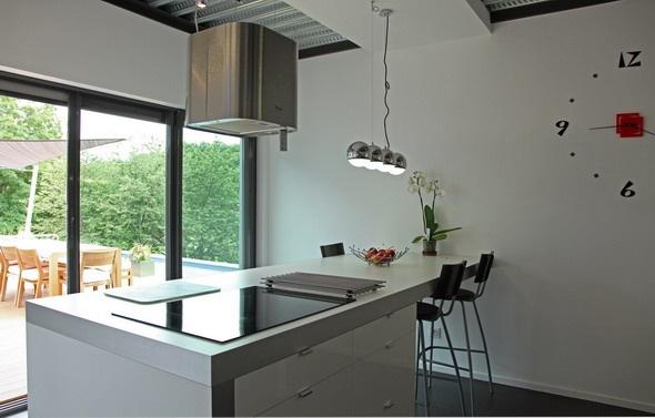 Maison contemporaine HQE : texL15
