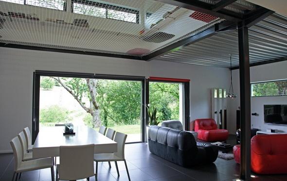 Maison contemporaine HQE : texL16