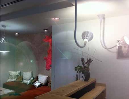 Coneption d'un Salon de coiffure : Détail visuel
